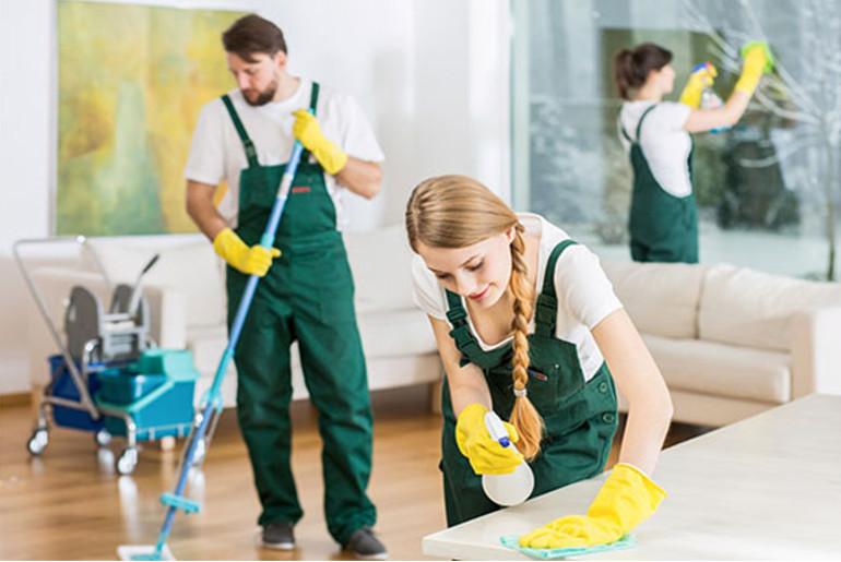 empleados empresa de limpieza